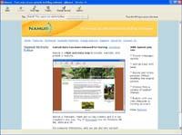 Namu6 - Website Editor screenshot