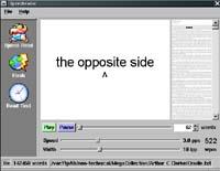 SpeedReader screenshot