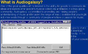 Audiogalaxy Satellite screenshot