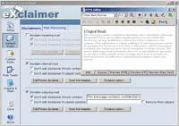 Exclaimer screenshot