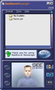 SeeStorm Messenger screenshot