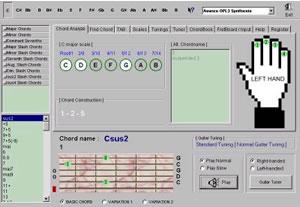 Super Guitar Chord Finder screenshot