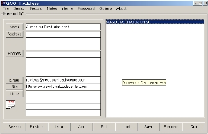 GiSOFT Address Manager  screenshot