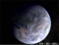 Planet Earth 3D Screensaver screenshot
