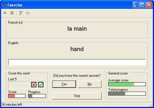 Vocatude screenshot