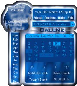 Calenz the Calendar screenshot
