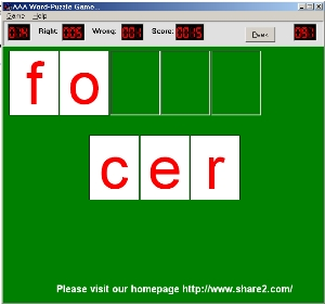 AAA Word Puzzle Game screenshot