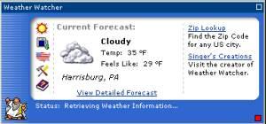 Weather Watcher  screenshot