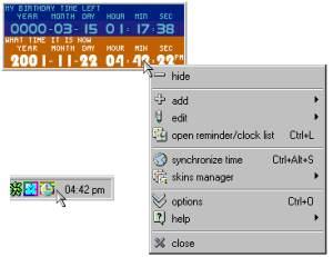 TimeLeft Light screenshot