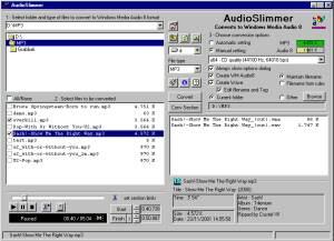 AudioSlimmer  screenshot