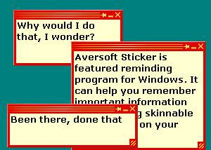 Aversoft Sticker screenshot