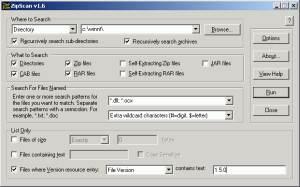 ZipScan screenshot