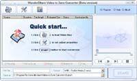 Wondershare Video to Zune Converter screenshot