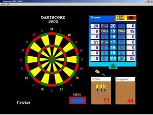 Dartscore 2002  screenshot