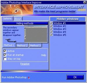 Adobe Photoshop Interface Improver screenshot