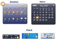 Weather Alarm Clock screenshot