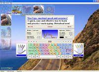 MaxType LITE Typing Tutor screenshot