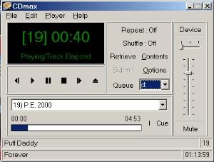 CdMax screenshot