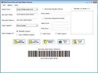 Barcode Label Creator screenshot