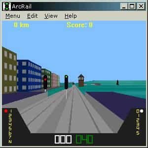 ArcRail Train Simulation   screenshot