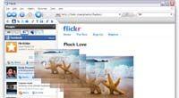 Flock The Social Web Browser screenshot