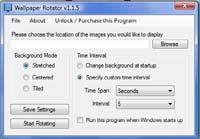Wallpaper Rotator screenshot