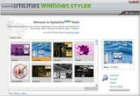 SystemUp Styler screenshot