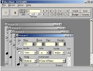 MusiNum  screenshot