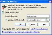Netwrix USB Blocker screenshot