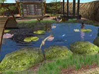 Fairy Lake 3D ScreenSaver  screenshot