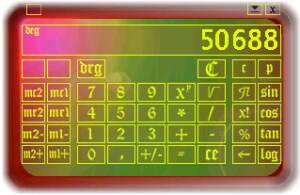 Chameleon Calculator screenshot