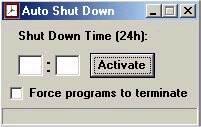 Auto Shut Down  screenshot