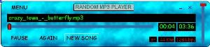 Random MP3 Player  screenshot