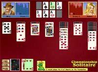 Championship Solitaire Challenge for Windows screenshot