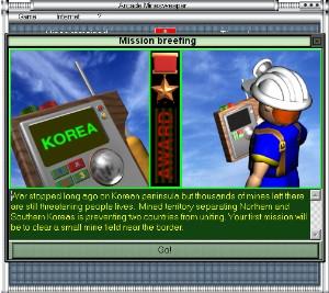 Arcade Minesweeper screenshot