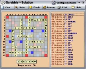 Scrabble™ Solution screenshot