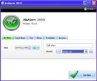 AbAlarm screenshot
