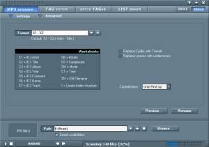 TagScanner screenshot