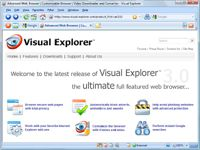Visual Explorer  screenshot