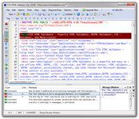 CSE HTML Validator Lite screenshot