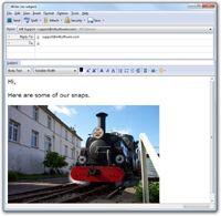 Paste Photos to Email Lite Portable  screenshot