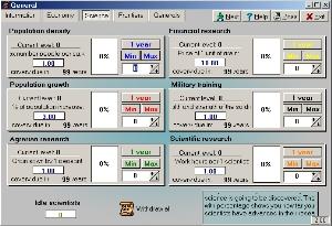 General screenshot