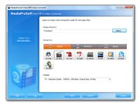 MediaProSoft Free MP4 Video Converter screenshot