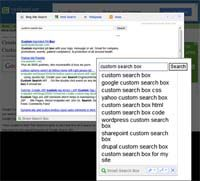 Smart Search Box for Mozilla Firefox screenshot