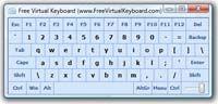 Free Virtual Keyboard  screenshot