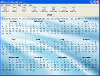 Smart Desktop Calendar screenshot