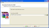 Recovery Toolbox for RAR screenshot