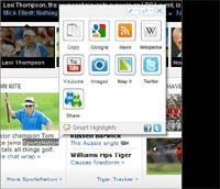 Smart Highlights For Internet Explorer  screenshot