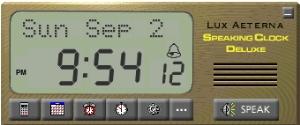 Speaking Clock Deluxe screenshot