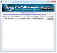 FreeNetEnumerator screenshot